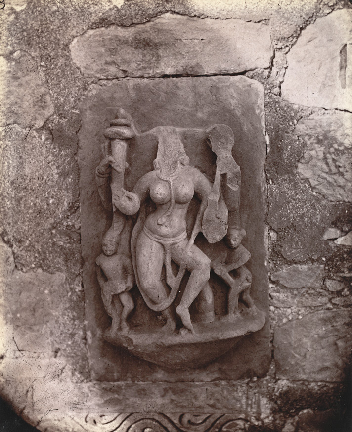 Sculptured slab from one of the temple at Deo Baranark 1003467